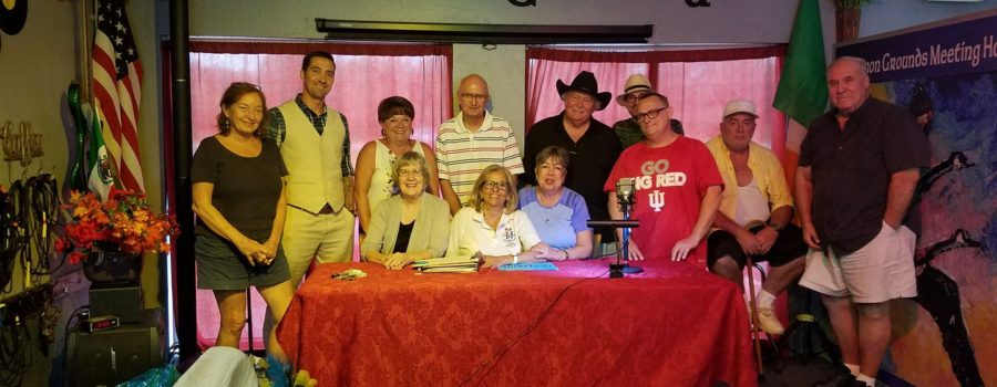 Writers on the Air with show host Loretta Martin