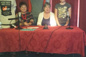 Writers on the Air Participants: Linda Wright, Dobie Pasco, Andrew Kirby, Linda Schell